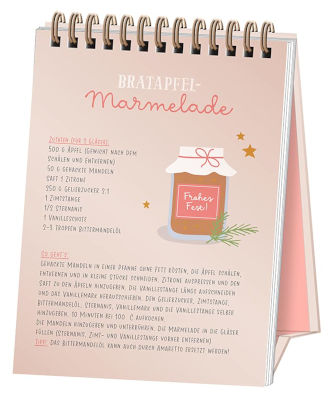 "Adventszeitverkürzer ""24 zauberhafte Rezepte"" Inhalt"