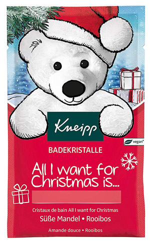 All I want for Christmas Badekristalle