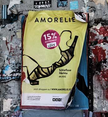 Gutschein Rabattcode Amorelie Werbeplakat