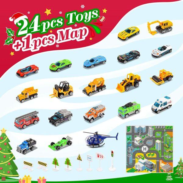 Diyfrety Spielzeug Adventskalender - Inhalt