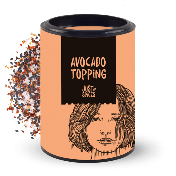 Just Spices Dose Avocadotopping 2021