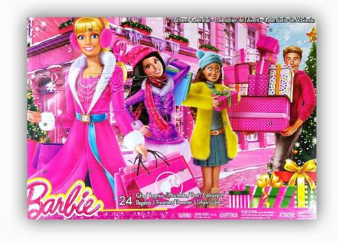 amazon Barbie Zubehör Adventskalender