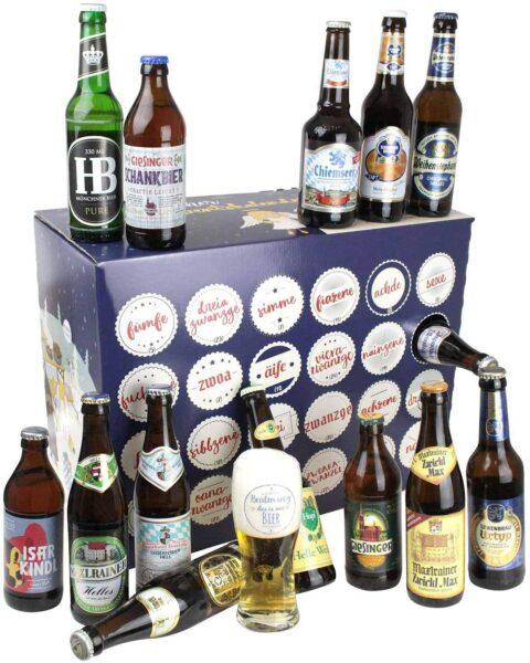 Inhalt - Bayerischer Bier Adventskalender 2021
