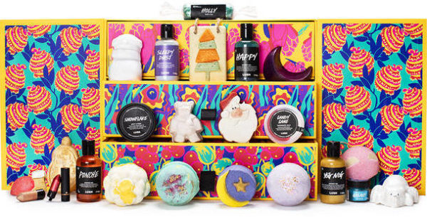 Beauty Lush Adventskalender 2019