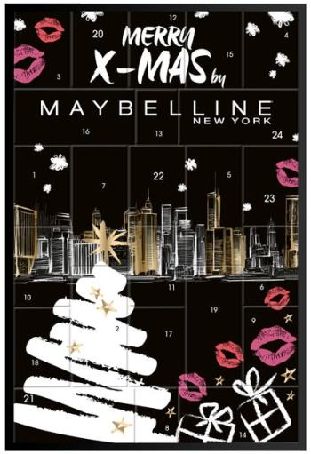 Beauty Maybelline New York Rossmann Adventskalender 2019