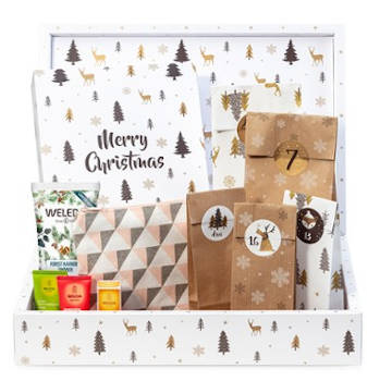 Beauty Weleda DIY Adventskalender 2019