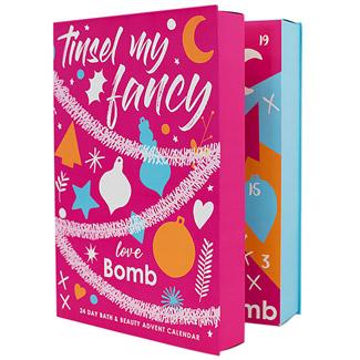 Bomb Cosmetics Tinsel my fancy Adventskalender 2019