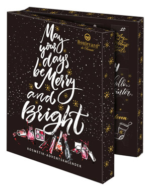 "Boulevard de Beauté ""May Your Days Be Merry And Bright"" Adventskalender 2018"