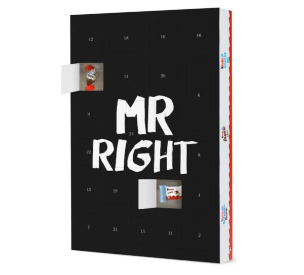 MR RIGHT Adventskalender artboxone Kinder