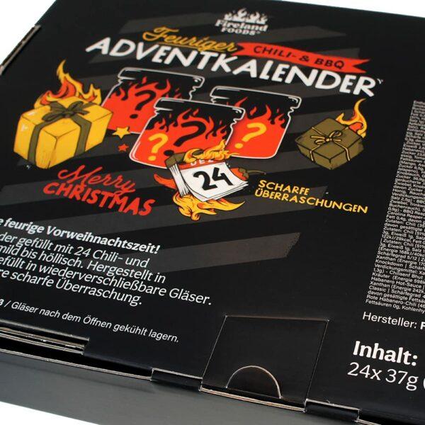 Inhalt - Chili- und BBQ Adventskalender 2021