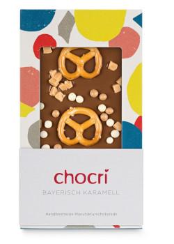 Vollmilchschokolade mit Salzbrezeln Füllidee Adventskalender Frauen