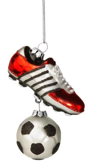 Christbaumschmuck Fußball