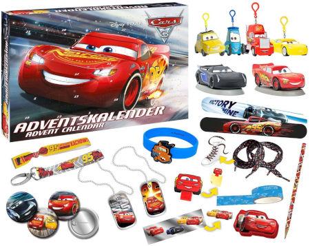 Inhalt Cars Adventskalender
