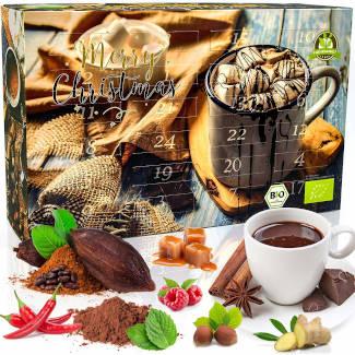 C&T Bio Trinkschokolade Adventskalender