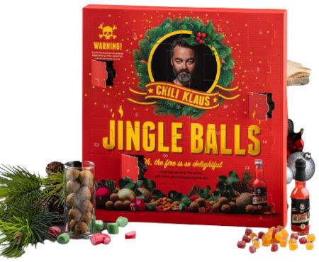 Inhalt Chili Klaus Jingle Balls! Christmas Calendar 2020