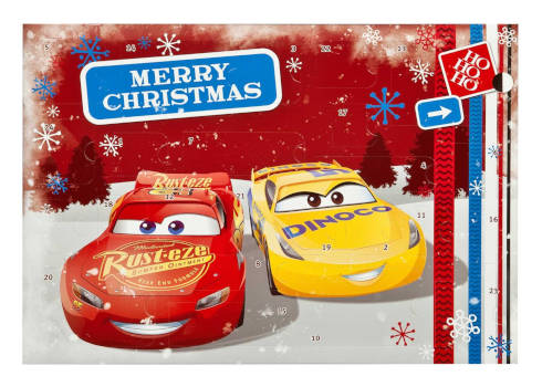 amazon disney cars adventskalender