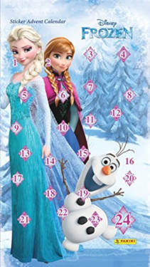 amazon Frozen Sticker Adventskalender