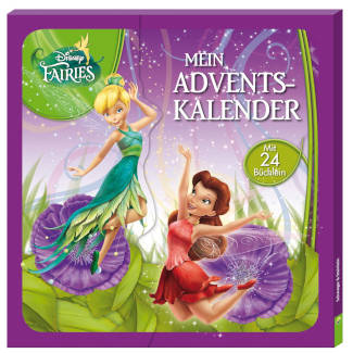 amazon Fairies Minibücher Adventskalender