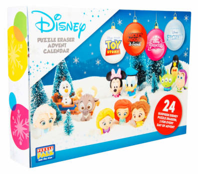amazon Disney Radiergummi Sammelfiguren Adventskalender
