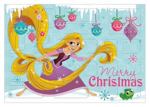 amazon Disney Rapunzel Schreibwaren dventskalender