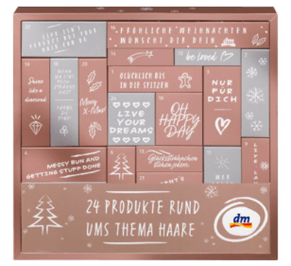 dm Adventskalender Haar 2019