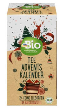 DM Bio Tee Adventskalender
