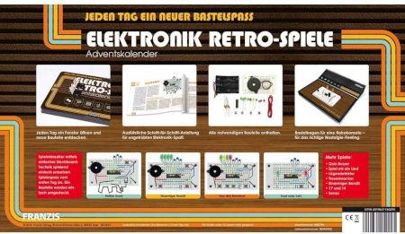 Elektronik Retro Spiele Adventskalender 2021 Inhalt