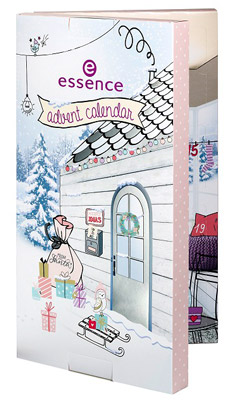 Essence Adventskalender 2017 - un fold