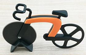 Pizzaschneider in Fahrradform