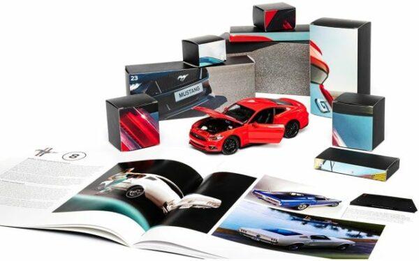 FRANZIS Ford Mustang GT Adventskalender Inhalt 1
