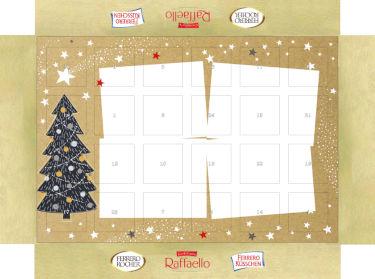 Ferrero Kalender Layout