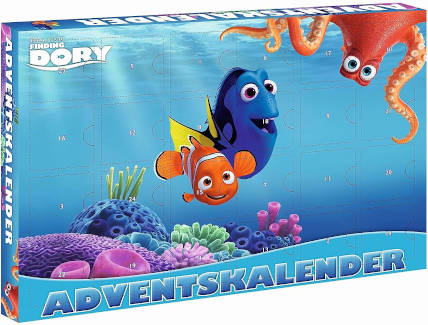 Beauty Kleinkinder Findet Dory Adventskalender