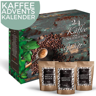 Kaffee Adventskalender 2017