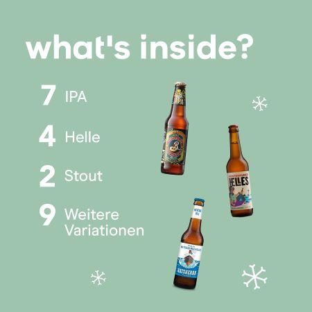 Foodist Craft Beer Adventskalender 2021 Inhalt