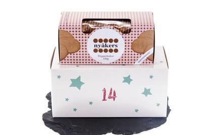 nyakers - schwedische Pfefferkuchen (150 g) Foodist Gourmet Adventskalender