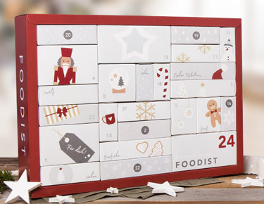 Foodist Gourmet Adventskalender 2017