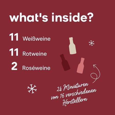 Foodist Wein Adventskalender 2021 Inhalt