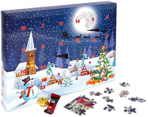 Fotopuzzle Adventskalender
