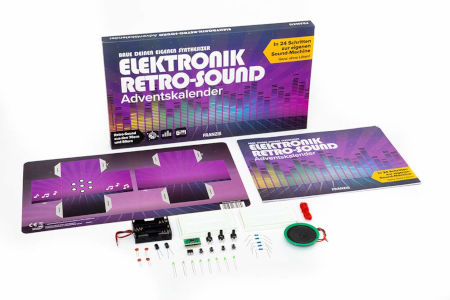 Inhalt Elektronik Retro-Sound Adventskalender 2020