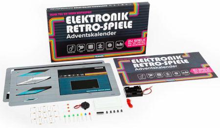 Inhalt Elektronik Retro Spiele Adventskalender 2020