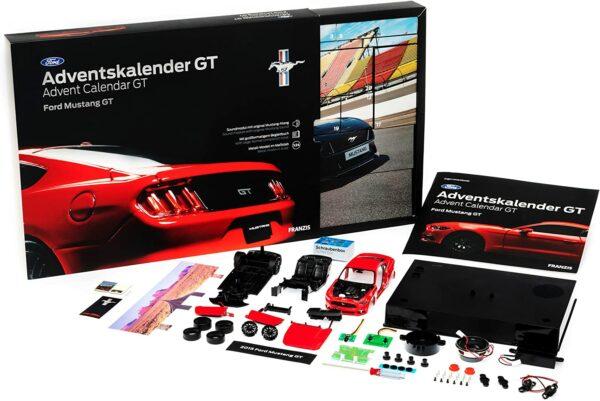 Franzis Ford Mustang GT Adventskalender 2021 - Inhalt