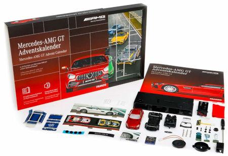 Inhalt Mercedes-Adventskalender 2020