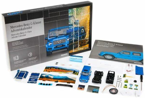 Mercedes-Benz G-Klasse Adventskalender Inhalt 2