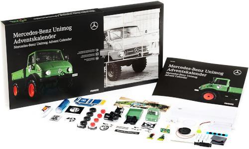 Franzis Mercedes Unimog 406 Inhalt 2