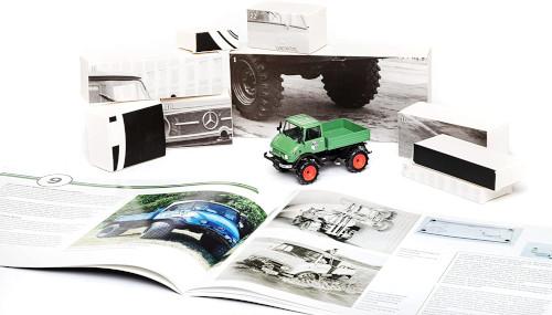 Franzis Mercedes Unimog 406 Inhalt 1