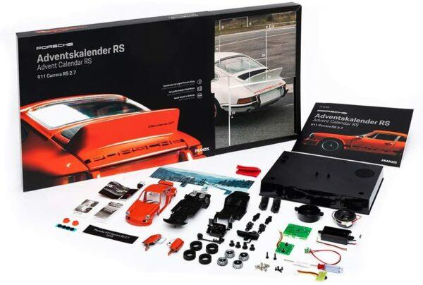 Porsche Carrera 911 RS 2.7 Inhalt 1
