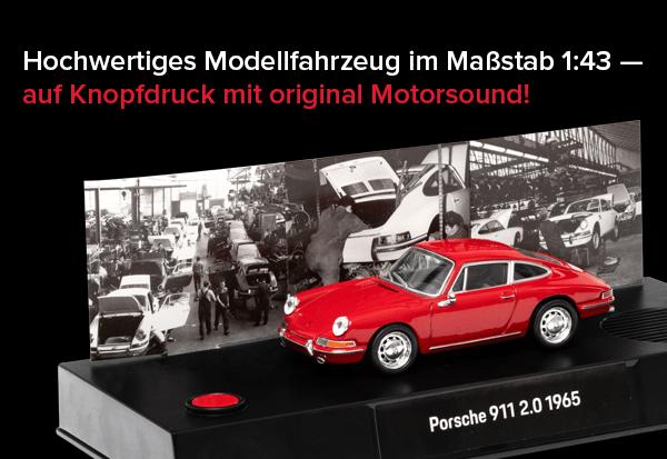Franzis Adventskalender - Inhalt - Porsche 911 - Modellauto