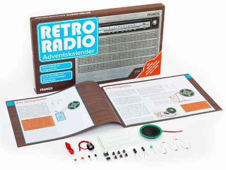Inhalt Retro Radio Adventskalender 2020