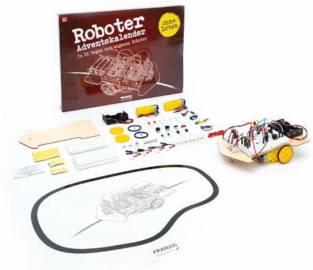 Inhalt Roboter Adventskalender 2020