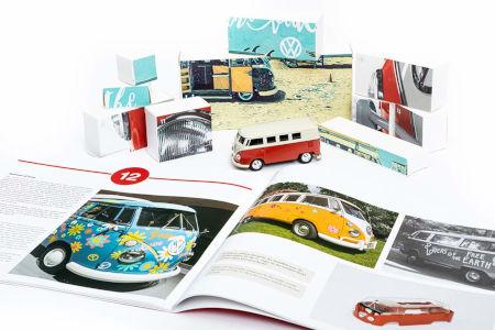 Inhalt VW Bulli T1 Adventskalender 2020